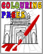 Colouring Pages - Printout & Colour
